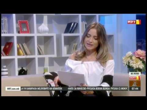 Гостување на МИМО на МТВ1 [Небојша Мојсоски, Сандра Анастасовска Кузмановски]