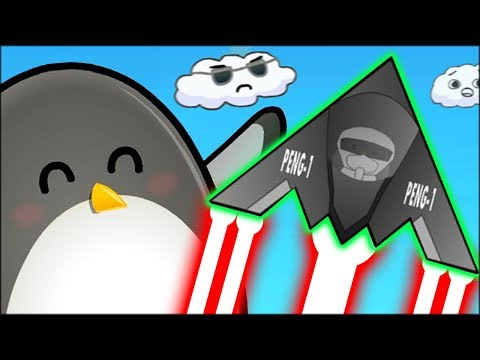 PENGUIN FLIES WITH A JET ENGINE TO GET TO THE MOON!! // Learn To Fly 3 Gameplay #2