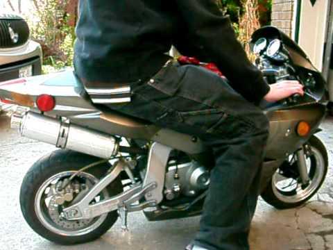 110cc Engine Diagram Zm2 X22 Fighter 110cc Super Pocket Bike Startup Youtube