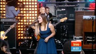 (HQ) Kelly Clarkson - Since You Been Gone Live Sunrise Australia 2011