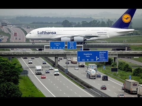 Airbus A380 TakeOff Compilation UHD