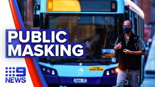 Coronavirus: South Australia recommends face masks on public transport   9 News Australia