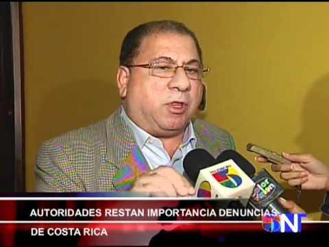 AUTORIDADES RESTAN IMPORTANCIA DENUNCIAS DE COSTA RICA   Computer