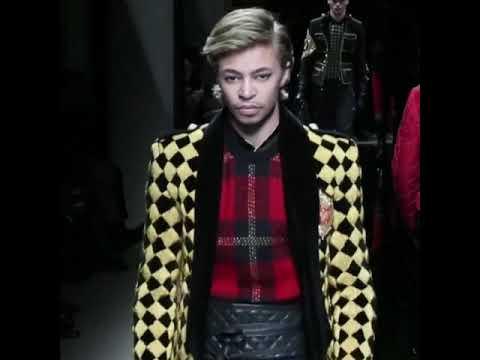 Take over the fashion world as Lucky Blue Smith