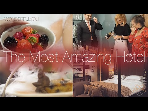 THE MOST AMAZING HOTEL! | Wonderful You Vlogs