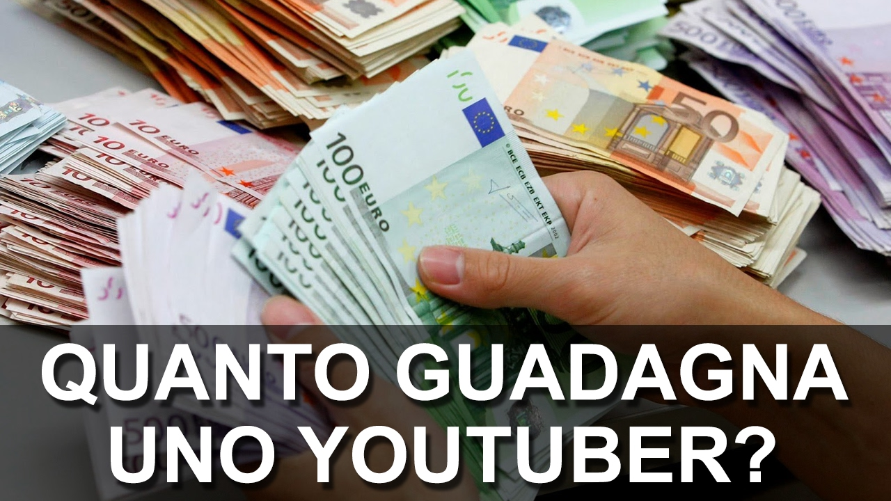 Youtuber italiani: quanto guadagnano