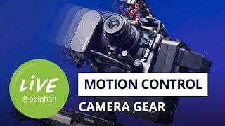 Motion control camera gear