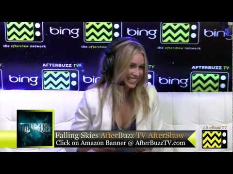 Falling Skies After Show w/ Sarah Carter Season 2 Episode 5 | AfterBuzz TV