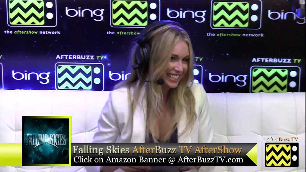 Download Falling Skies After Show w/ Sarah Carter Season 2 Episode 5   AfterBuzz TV