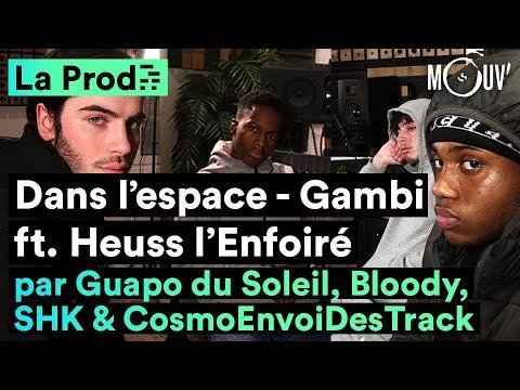 Youtube: «Dans l'espace» – Gambi ft. Heuss l'Enfoiré: comment le hit a été créé