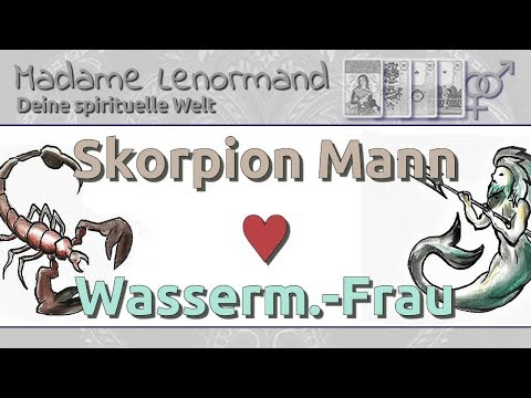 skorpion mann wassermann frau beziehung