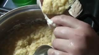 Лёгкий способ приготовить картофельную колбасу.