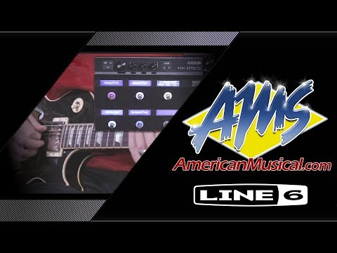 Line 6 HX Effects Demo - American Musical Supply