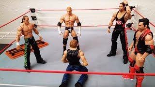 The Shield (Reigns, Rollins, Ambrose) vs. The Kliq (HHH, HBK, X-Pac, Nash, Hall)