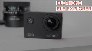 Elephone Ele Explorer - экшн-камера за 65$ аналог GoPro и Xiaomi Yi (Gearbest.com)