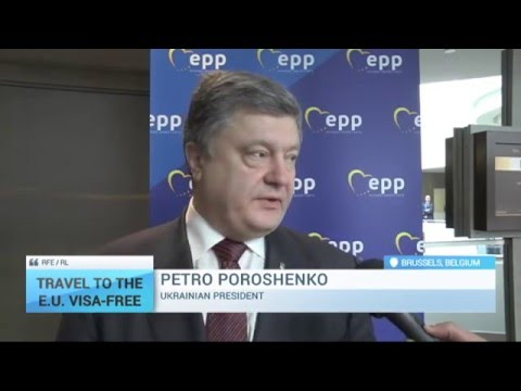 Travel to the E.U. Visa-Free: Poroshenko: Ukraine has done everything needed for visa-free EU travel