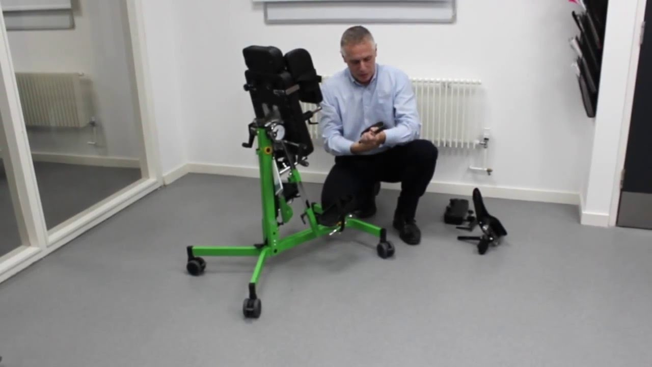 r82 gazelle ps standing frame converting the standing frame from supine to prone