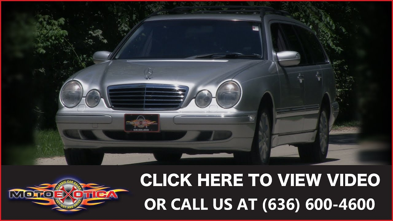 2000 mercedes benz e320 wagon sold youtube for 2000 mercedes benz e320 wagon