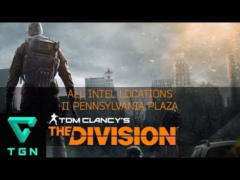 The Division All Intel Locations II Pennsylvania Plaza