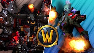Fury Warrior GOD VS Fire Mage (1v1 Duels) - PvP WoW: Battle For Azeroth 8.1