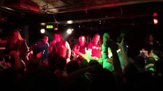 EXODUS: Live in London 24.06.15 Camden Underworld. A Lesson in Violence \m/