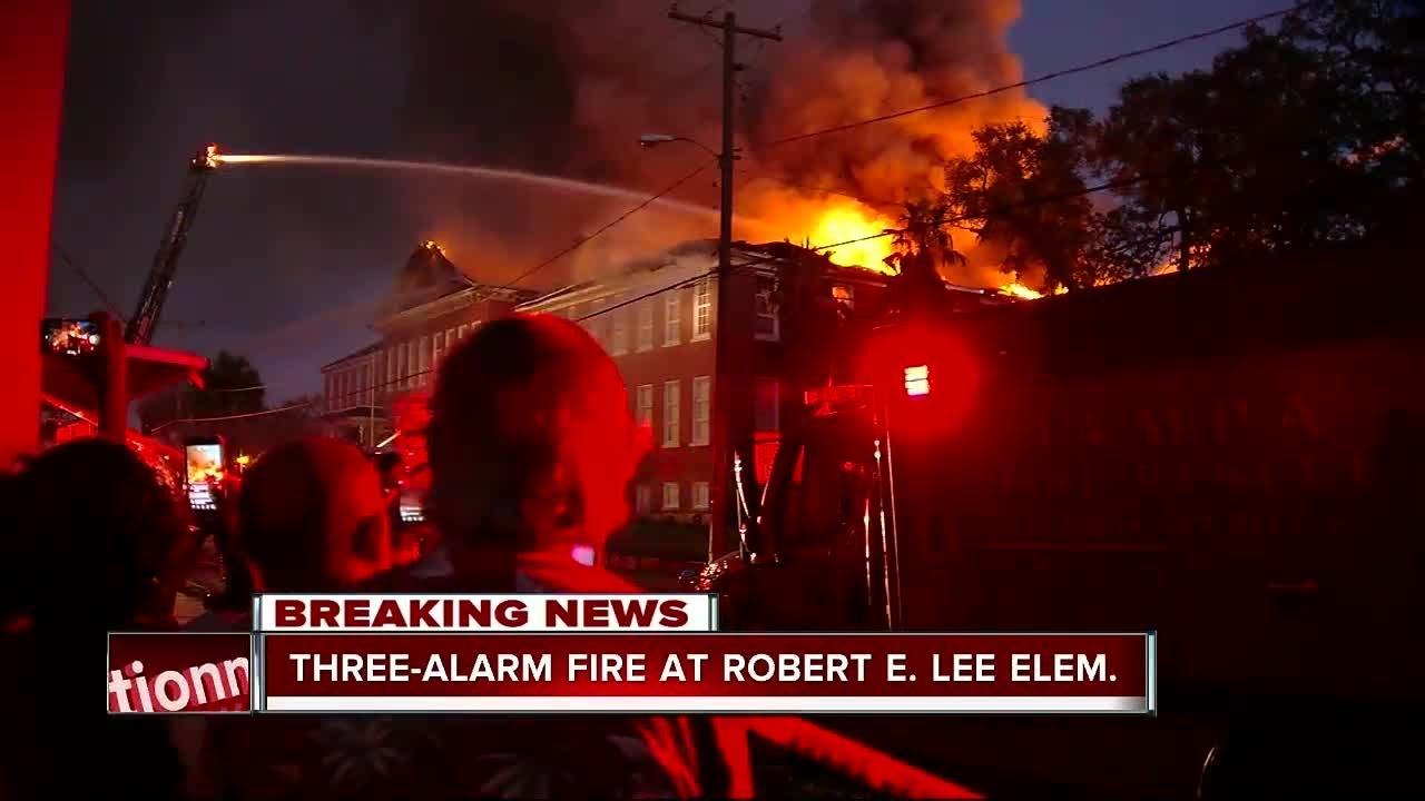 three-alarm-fire-at-robert-e-lee-elementary-school-visible-from-i-275