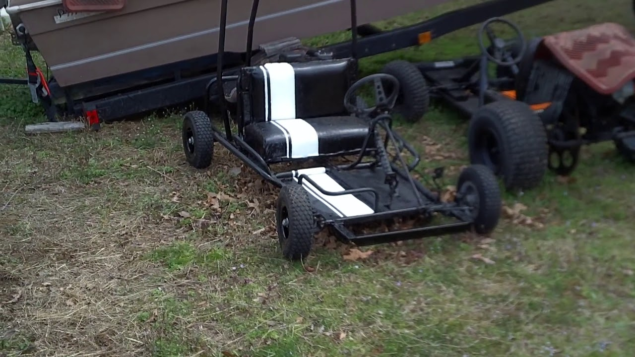 My old Carter (?) go kart gets redone. - YouTube