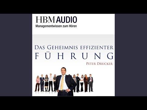 Das Geheimnis effizienter Führung (Managementwissen zum Hören - HBM) YouTube Hörbuch Trailer auf Deutsch