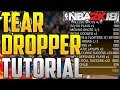 NBA 2K18 BADGE TUTORIAL: TEAR DROPPER BADGE IN 5 MINS! HOW TO GET TEAR DROPPER HOF FAST! NBA 2K18!