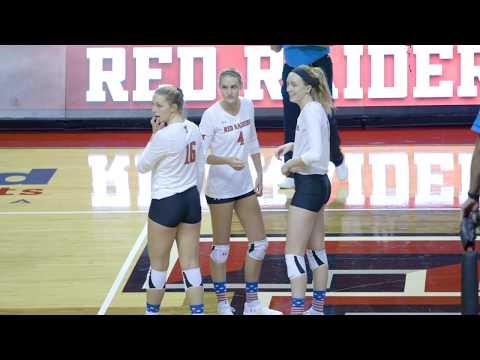 Texas Tech Volleyball Mic'd Up: Missy Owens & Kyndal Cowan | 2018