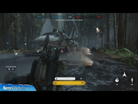 Star Wars Battlefront - All Collectible Locations - Hero Battle on Endor Collectible Guide