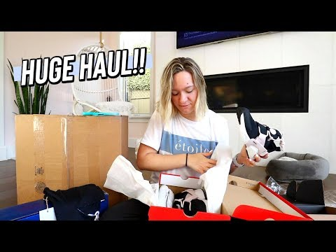 another huge clothing haul by alisha marie!