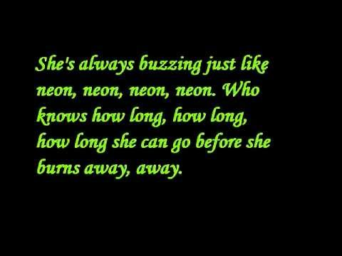 John Mayer - Neon lyrics