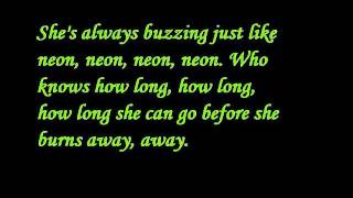 John Mayer - Neon lyrics