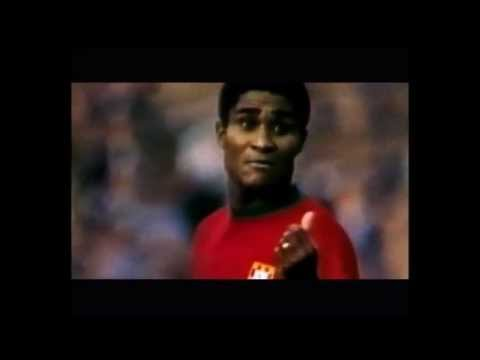 Eusebio some great goals and actions