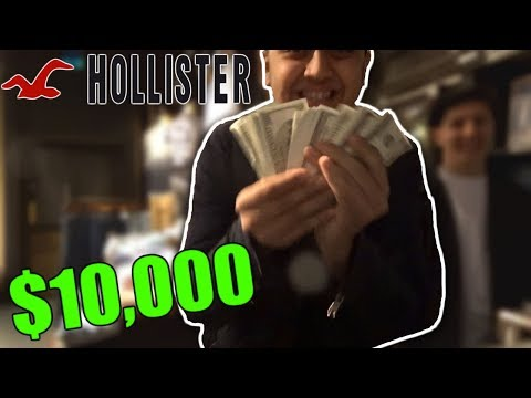 PRANKING BRITISH STORES with $10,000 CASH!!