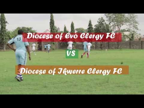 DIOCESE OF EVO CLERGY FOOTBALL MATCH WITH CLERGY OF IKWERRE DIOCESE