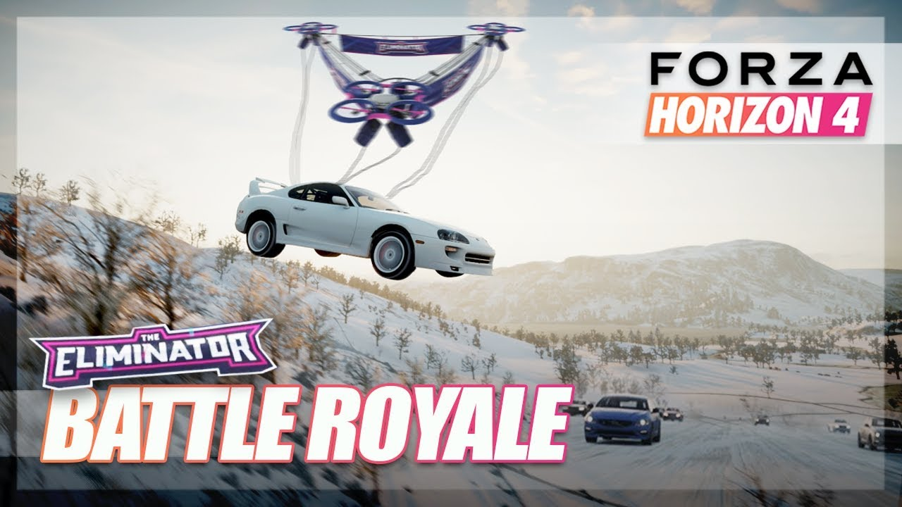 Forza Horizon 4 - NEW BATTLE ROYALE First Look! (First Gameplay) thumbnail