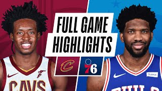 CAVALIERS at 76ERS | FULL GAME HIGHLIGHTS | February 27, 2021