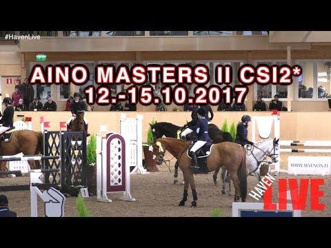 Aino Masters II CSI2* 1215.10.2017   Day 2  FRI