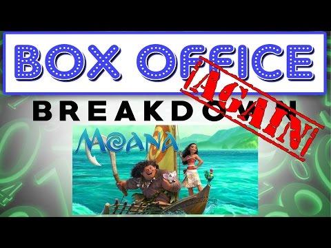 Moana Goes Far In Second Week - Box Office Breakdown for November 28th, 2016