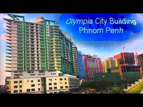 Olympia city Building in Phnom Penh, Cambodia 2018