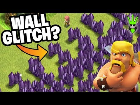 WHAT THE HECK HAPPENED TO MY WALLS?! - Let's Play TH8 - Clash of Clans