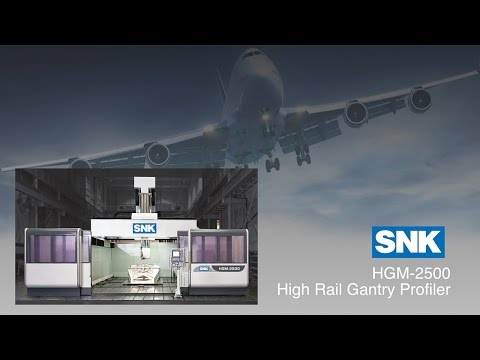 SNK HGM 2500 High Rail Gantry Profiler