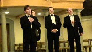 """Vokalensemble """"Vivat"""" aus St. Petersburg zu Gast in St. Margrethen. Хор """"Виват"""""""
