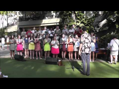 Valley Catholic Choir Hawaii Trip Part Two: Performance at the Park!