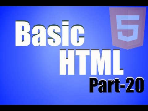 Basic HTML Tutorial part20 How to add background Sound or Music of webpage
