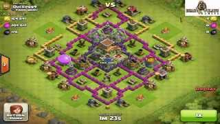 CLASH OF CLANS town (hall 8) myriad TH8 SPEED BUILD