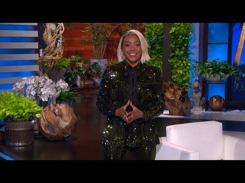 Whoopi Goldberg Surprises Tiffany Haddish with a Congratulatory Message