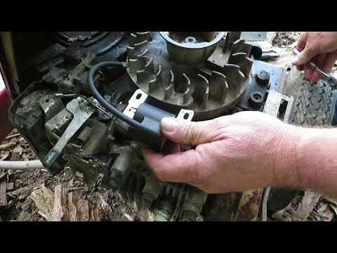 Briggs and Stratton Engine Coil test and replace